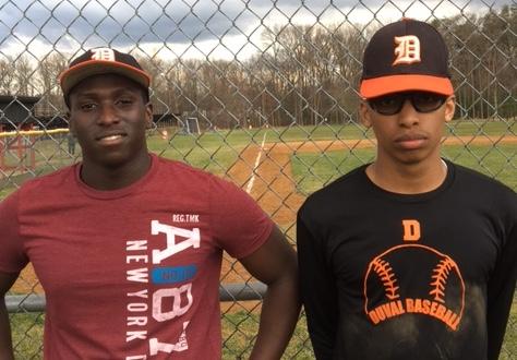 DuVal Baseball Standout Spotlight: Malik Clarke & Justyn Bunkley