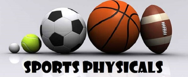 Sports Physical Dates From Bronson — Revised