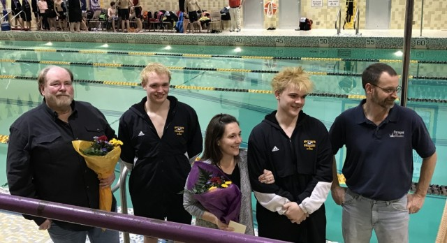 South Haven Senior Swimmers Honored