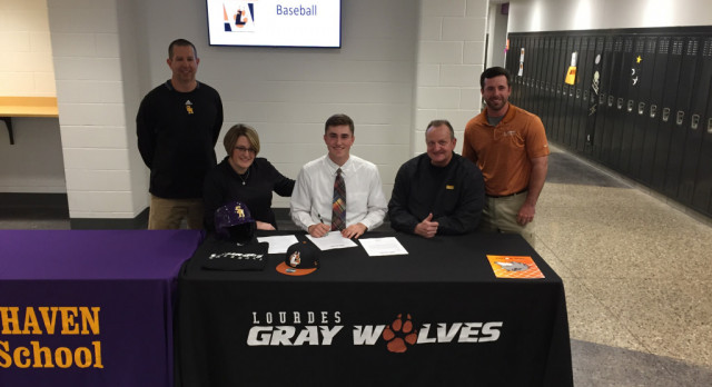 Bryce Gargus Commits to Lourdes University