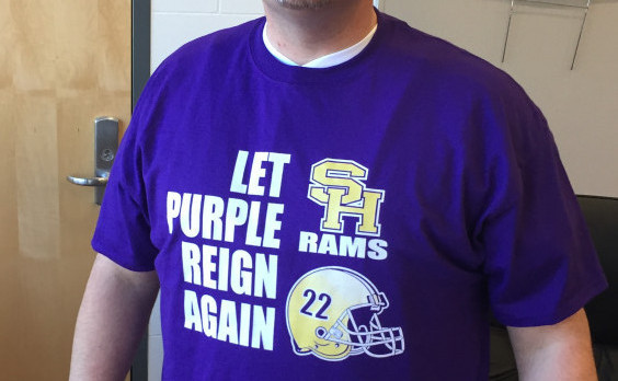 South Haven Football Purple Reign Shirts Are Now Available