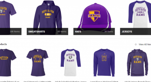 South Haven Rams Apparel Available at Jostens Online Store