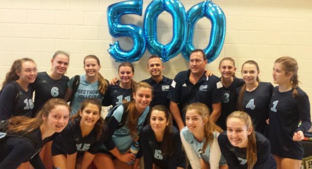 Congratulations Bryan Jones-500th Volleyball Win