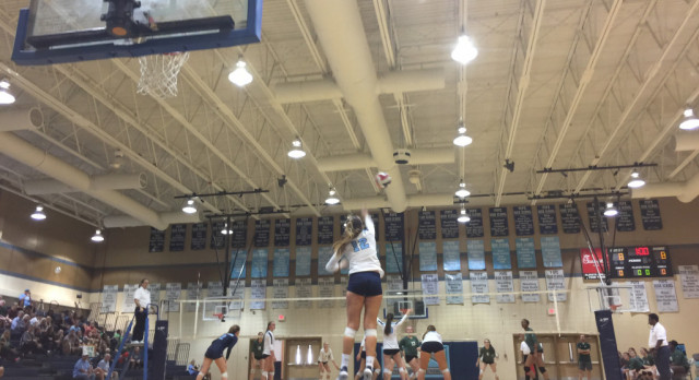 Volleyball plays in FINAL FOUR