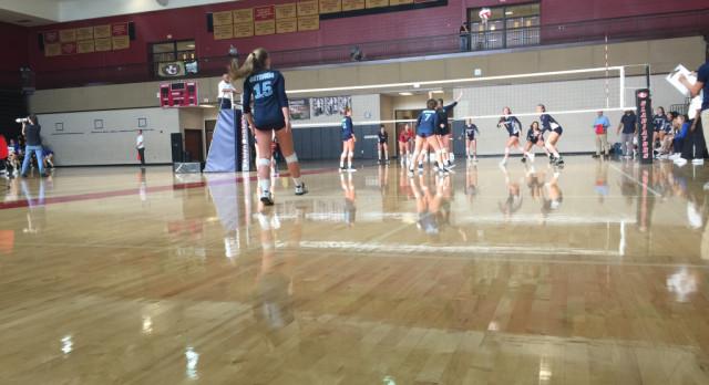 Volleyball HOSTS Greenbrier in Elite 8