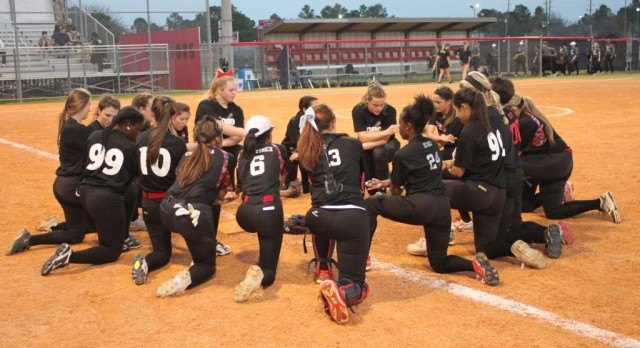 Lady Lobo Softball – Home Scrimmage – Friday, 2/12/16