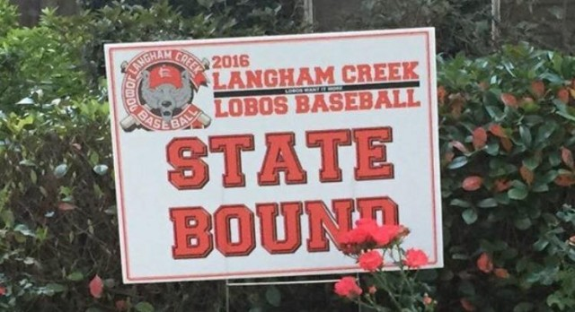 Our Mighty LOBOS are Region III 6-A Champions!!!!!