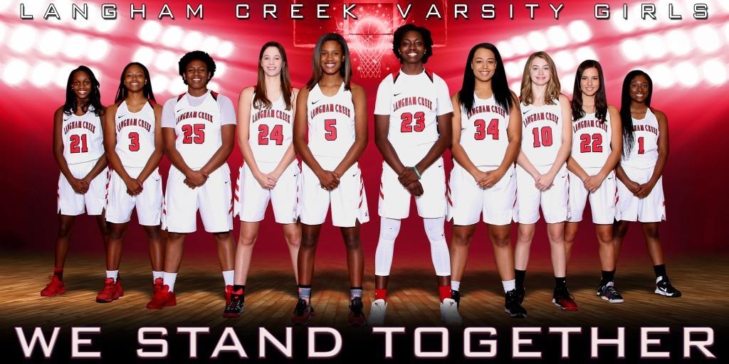 LCHS Girls Basketball Varsity Banner 2016-17