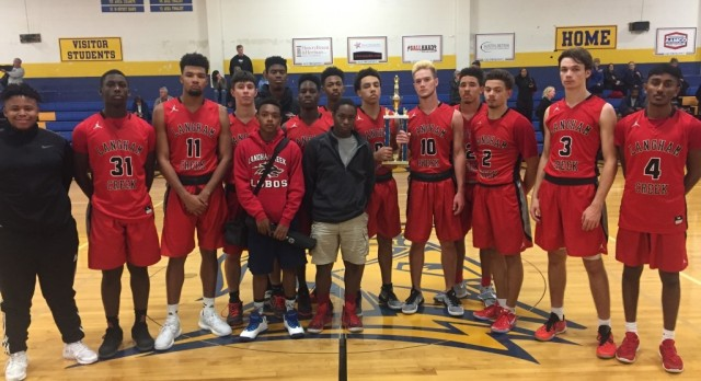Boys Varsity basketball team gets 2nd in Anderson Tournament