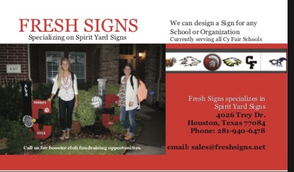 Order Your Yard Sign Today!