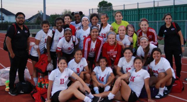 Lady Lobo Soccer Season Ends in Area Round