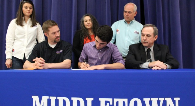 JON BURROW SIGNS WITH CINCINNATI CHRISTIAN UNIVERSITY