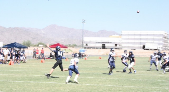 Anthem Preparatory Academy Middle School Football falls to Scottsdale Preparatory Academy 20-12