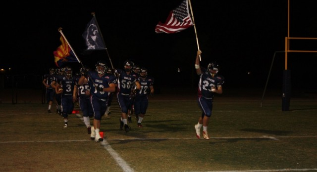 Anthem Preparatory Academy Varsity Football falls to Salome High School 46-0
