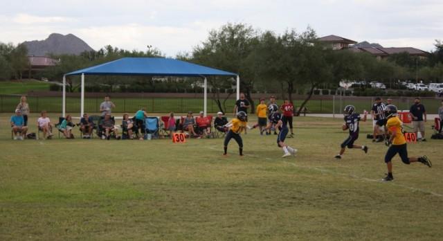 Anthem Preparatory Academy Middle School Football falls to Glendale Preparatory Academy 34-18