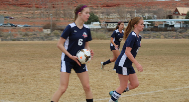 Vallery Scores 3 Goals as Girls Varsity Soccer Beat Page High School 6-2