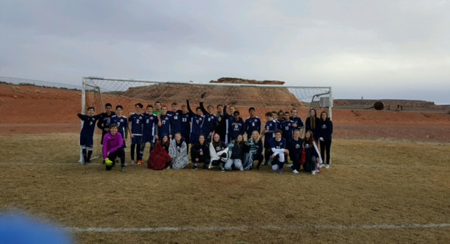 Boys Varsity Soccer Conquer Page High School 4-2