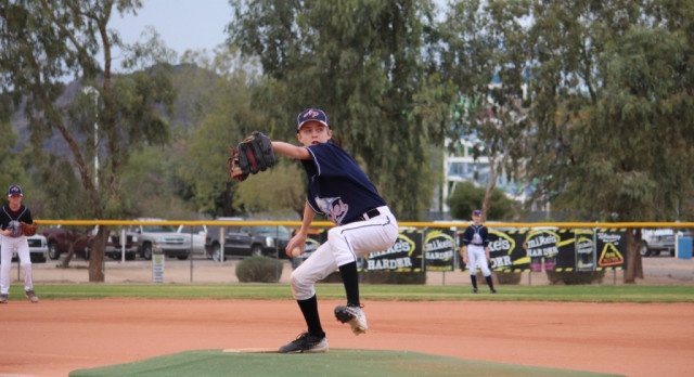 Middle School Baseball Defeat North Phoenix Preparatory Academy 11-2
