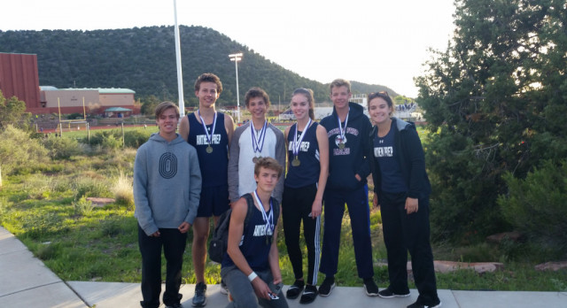 HS Track Team Shines in Sedona!!!!!