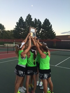 Congratulations Girls' Tennis.  Region Champs!!