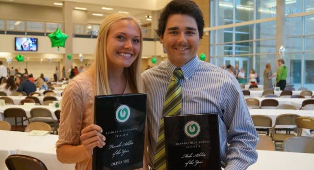 Female/Male Athlete of the Year!