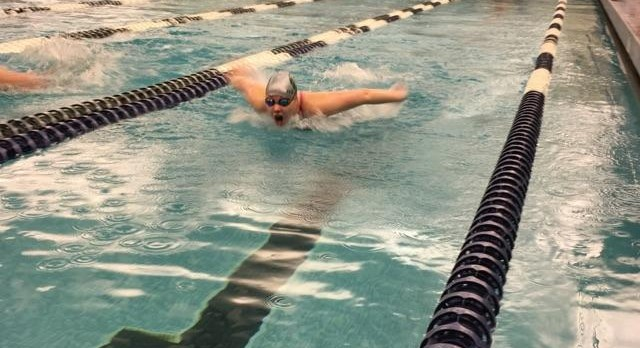 Swimming finishes season with a strong showing at State!