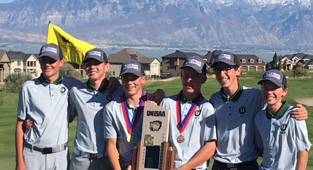 Olympus win State Golf Tournament- First ever for school
