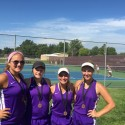 Girls Tennis season ending photos
