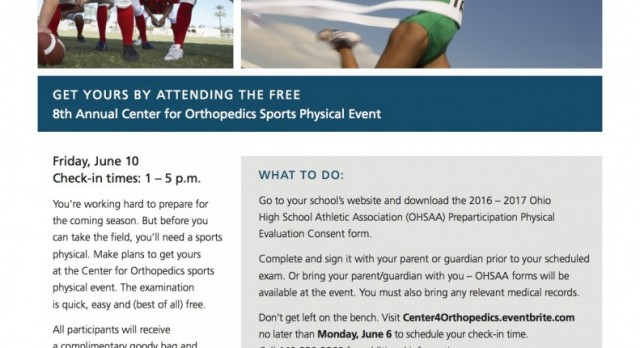 Free Physicals!