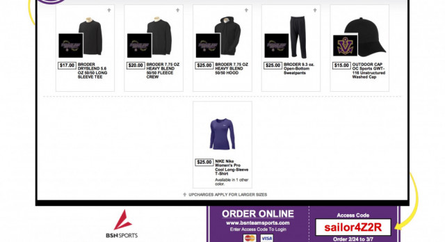 Softball Team Shop Open!