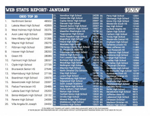 Website Stats January