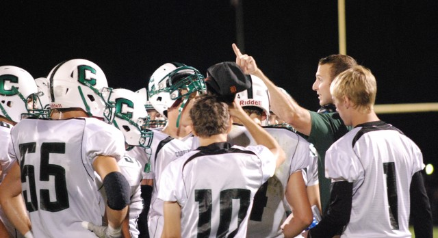 Coopersville High School Varsity Football falls to Lakers 14-29