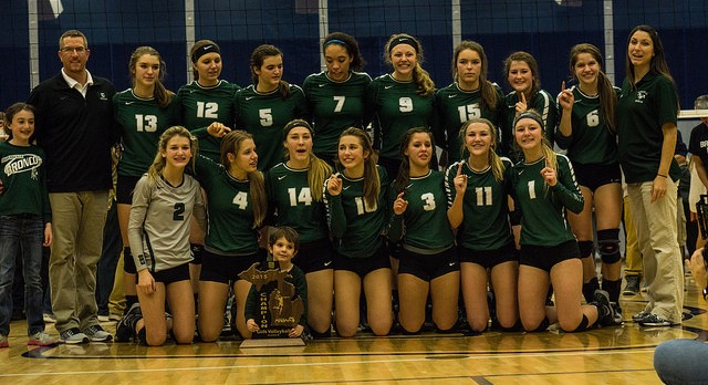Volleyball Team Wins First Regional in Program History