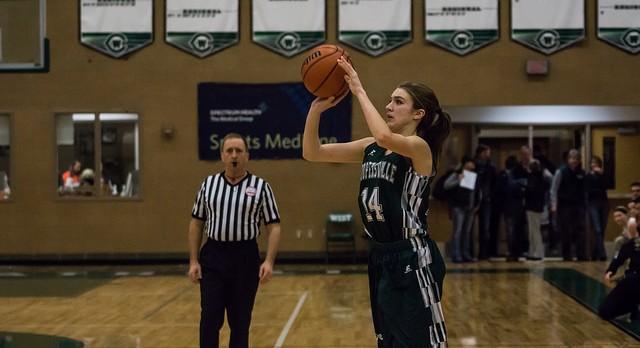 Coopersville High School Girls Varsity Basketball beat Calvin Christian High School 51-50