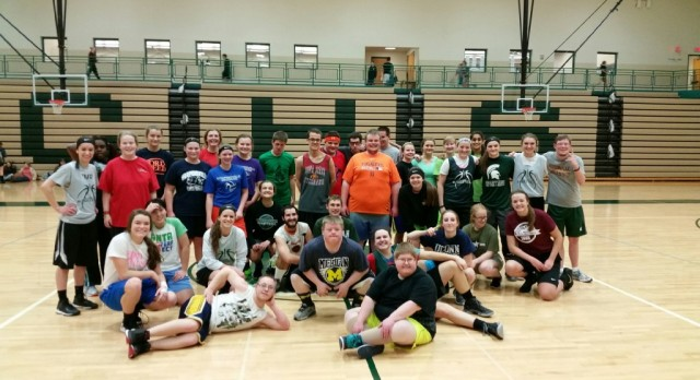Lady Bronco Basketball Hosts Clinic for Two Local Special Olympics Teams