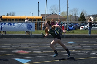 Coopersville High School Girls Varsity Track finishes 2nd place