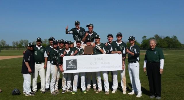 Coopersville High School Varsity Baseball beat Belding High School 3-2