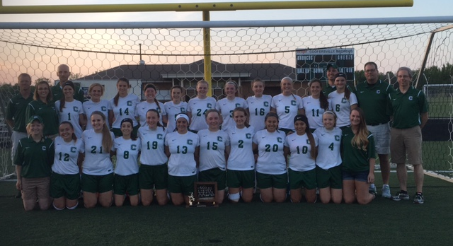 Girls  Soccer Wins 4th Consecutive Championship