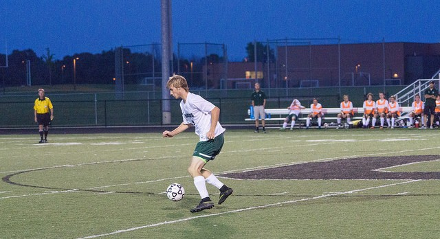 Coopersville High School Boys Varsity Soccer falls to Spring Lake High School 2-0
