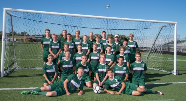 Coopersville High School Boys Varsity Soccer falls to G.R. Catholic Central High School 3-2