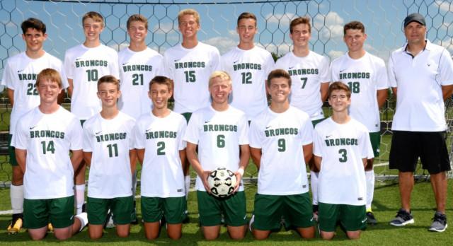 Coopersville High School Boys Varsity Soccer beat West Catholic High School 1-0