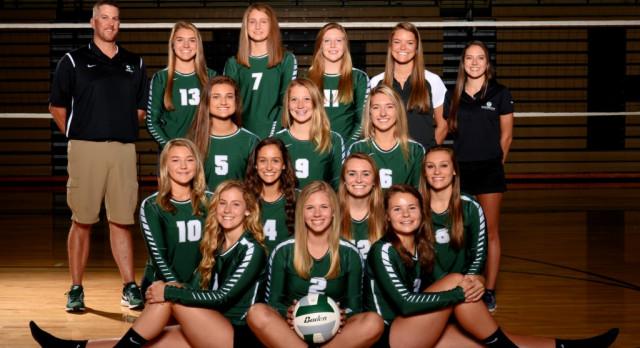 Coopersville High School Girls Varsity Volleyball beat Girls Varsity Volleyball 3-0