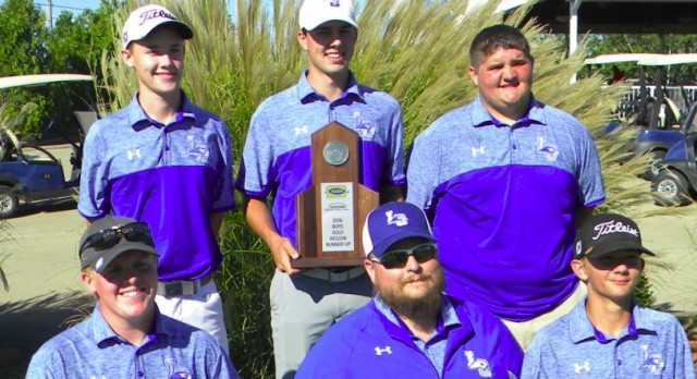 LC GOLF CLAIMS RUNNER-UP AT REGION GOLF TOURNEY