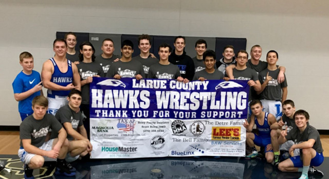 MAT HAWKS ADVANCE TO STATE DUAL WITH SECTION 6 CHAMPIONSHIP
