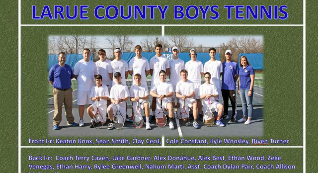 LARUE COUNTY BOYS TENNIS