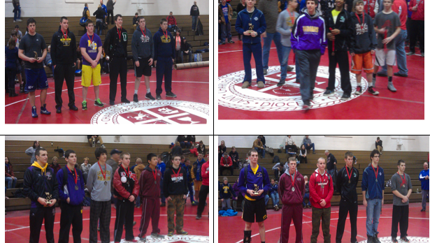 Four wrestlers place at St. Charles, Nye Cardinal Classic Tournament