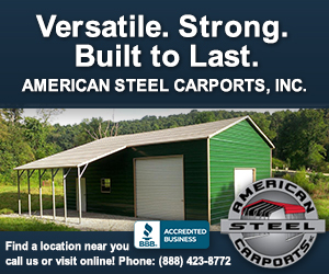 American Steel Carports - Gold A