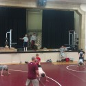 First day of wrestling practice, 2014-2015