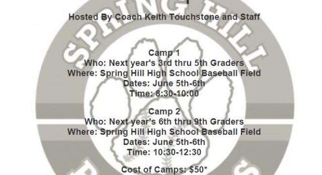 Spring Hill Baseball Camp