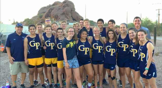 Griffins Cross Country finishes strong in final meet at the Tempe Prep Invite